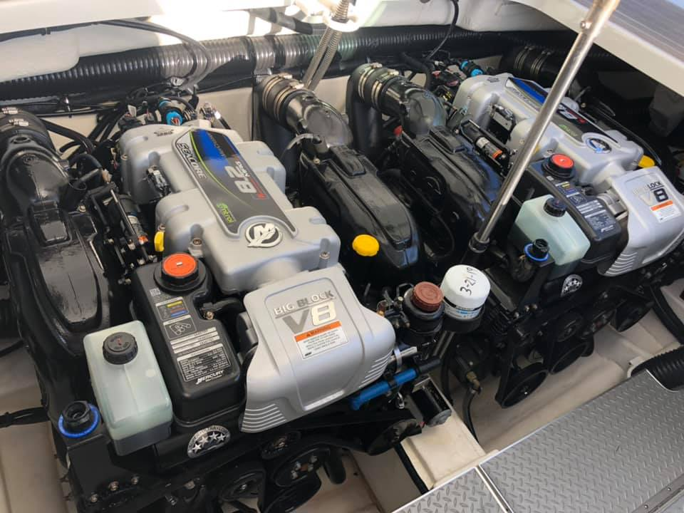 Boat Engine Detailing